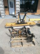 """(1) 90"""" Meyer Snow Plow. Located in Mt. Pleasant, IA."""