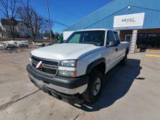 (1) 2006 Chevrolet 2500 HD Pickup. VIN #1GCHK29U56E257147, 277434 Miles. Located in Mt. Pleasant,