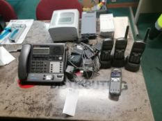 (1) Upunch HN4000 Time Attendance Set & Panasonic Phone System. Located in Marion, IA.