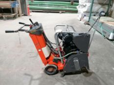 (1) 2017 Husqvarna FS524 Walk-Behind concrete Saw, Serial #4300002 with Honda Engine. Located in