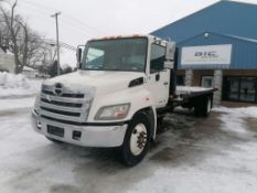 2013 Hino Motors Stake Bed Truck, VIN #5PVNV8JV2D4S53089, 268.808 Miles, 24' x 8' Bed