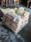 (1) Pallet of 48 Bags of LATICRETE L & M Emeryplate, Emery Aggregate Dry Shake On Surface