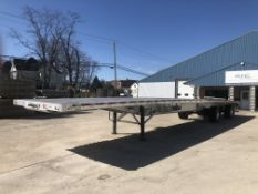 """(1) 2018 WILSON Flatbed 53' X 102"""" Bed, Model AF-1080 SS, VIN #4WW5532A0J6625994 with Ramps"""