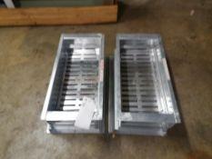 "(2) 20"" x 10"" EMI Aluminum Drain Systems. Located in Marion, IA."