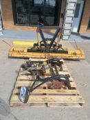 """(1) 96"""" Meyer Snow Plow. Located in Mt. Pleasant, IA."""