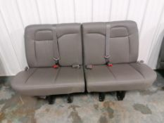 2021 NEW Chevrolet Express Passenger Seat Row. Located in Mt. Pleasant, IA.