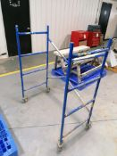 (1) Werner PS-48 Portable Scaffold. Located in Mt. Pleasant, IA.