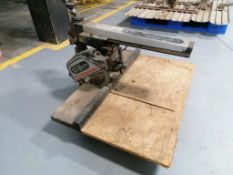 (1) 10 Inch Craftsman Radial Arm Saw. Located in Mt. Pleasant, IA.