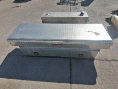 (1) Weatherguard Truck Tool box & (1) 35 GAL Fuel Tank. Located in Mt. Pleasant, IA.