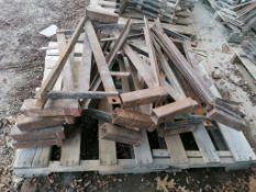 (14) Scaffolding Brackets. Located in Mt. Pleasant, IA