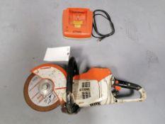 (1) Stihl TSA 230 Battery Powered Cut-Off Saw. Located in Mt. Pleasant, IA.