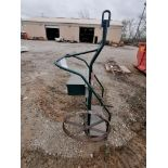 (1) Steel Cart with Wheels. Located in Waukegan, IL.