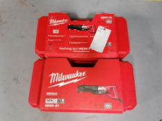 (2) Milwaukee Sawzall, Model 6509-31. Located in Mt. Pleasant, IA.