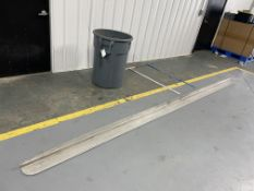 """(1) 14' Screed, (1) Brute Trash Can & (2) 48"""" Drywall T-Square. Located in Mt. Pleasant, IA."""