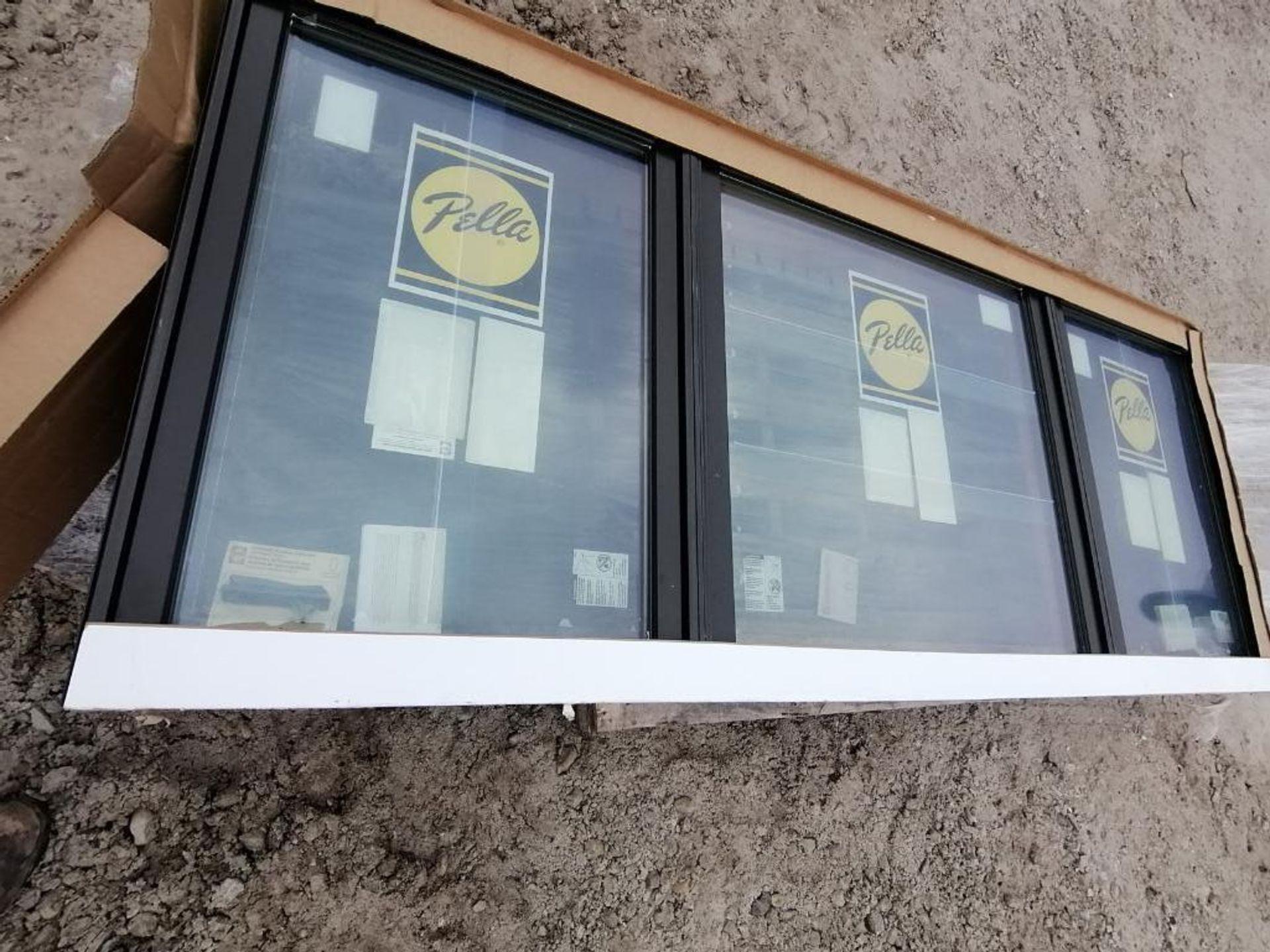 "(1) Pella 39"" x 99"" x 10"" Window with Frames. Located in Waukegan, IL."