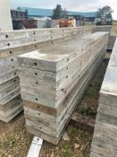 """(10) 10"""" x 9' Wall-Ties Smooth Aluminum Concrete Forms 6-12 Hole Pattern. Located in Lake Crystal, M"""
