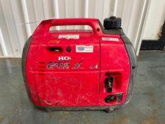 (1) Honda EU2000 Generator. Located in Mt. Pleasant, IA.