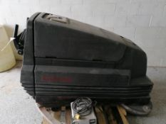 (1) Clarke Vision 32 Floor Scrubber with 32V Battery Charger. Located in Wheeling, IL.