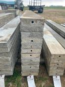 """(12) 8"""" x 9' Wall-Ties Smooth Aluminum Concrete Forms 6-12 Hole Pattern. Located in Lake Crystal, MN"""