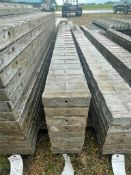 """(8) 8"""" x 9' Wall-Ties Textured Brick Aluminum Concrete Forms 6-12 Hole Pattern. Located in Lake Crys"""