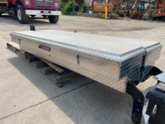 """(2) 85"""" x 16"""" Weatherguard Toolboxes. Located in Glen Ellyn, IL."""