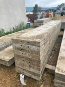 """(10) 16"""" x 9' Wall-Ties Smooth Aluminum Concrete Forms 6-12 Hole Pattern. Located in Lake Crystal, M"""