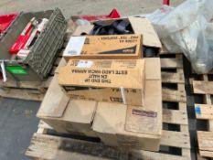 (2) New Military Cargo nets, (1) Used Military Cargo nets, & (2) Gojo7200-01 Soap Dispensers. Locat