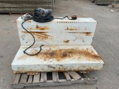 """(1) 31"""" x 54"""" 88 GAL Fuel Tank with GPI Fuel Transfer Pump. Located in Mt. pleasant, IA."""