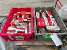 (2) Boxesof new Ford Motor Craft Spark Plug Wire Set for 80's & 90's Models. Located in Glen Ellyn,