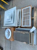 (1) Pallet of AC Ventilation Covers. Located in Waukegan, IL.