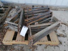 (16) Scaffolding Brackets. Located in Mt. Pleasant, IA.