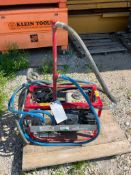 (1) Allen engineering Pressure Washer, Model 7560XL, Serial #75X0409010 with Honda GX120. Located in