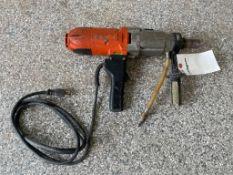 (1) Husqvarna Coring Drill. Located in Wheeling, IL.