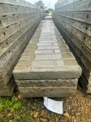 """(4) 14"""" x 9' Wall-Ties Textured Brick Aluminum Concrete Forms 6-12 Hole Pattern. Located in Lake Cry"""