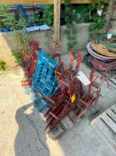 (11) Scaffolding Jacks. Located in Waukegan, IL