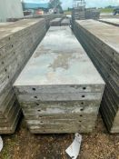 """(8) 18"""" x 8' Wall-Ties Smooth Aluminum Concrete Forms 8"""" Hole Pattern. Located in Lake Crystal, MN."""
