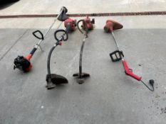 "(1) Sears Craftsman Weedwhacker Heavy Duty 17"" Cut, (1) HomeliteHLT-16 Classic 30cc, (1) Craftsman"