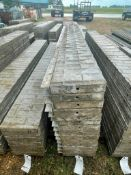 """(14) 12"""" x 9' Corners with 9' Angles Wall-Ties Textured Brick Aluminum Concrete Forms 6-12 Hole Patt"""