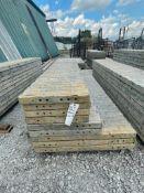 "(3) 36"" x 9', (2) 24"" x 9' & (4) 20"" x 9' TUF-N-LITE Textured Brick Aluminum Concrete Forms 6-12 Hol"