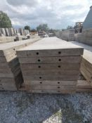 """(8) 18"""" x 8' TUF-N-LITE Smooth Aluminum Concrete Forms 6-12 Hole Pattern. Located in Terre Haute, IN"""