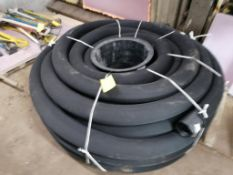 (1) Roll of Drainage Hose. Located in Terre Haute, IN.