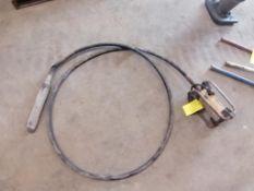 (1) WACKER Concrete Vibrator. Located in Terre Haute, IN.