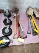 (7) Shovels. Located in Terre Haute, IN.