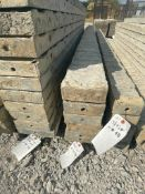 """(6) 6"""" x 9' TUF-N-LITE Textured Brick Aluminum Concrete Forms 6-12 Hole Pattern. Located in Terre"""