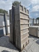 (16) 3' x 8' TUF-N-LITE Smooth Aluminum Concrete Forms 6-12 Hole Pattern, Basket is Included. Locate