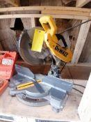(1) DEWALT DW706 Corded Miter Saw. Located in Terre Haute, IN.