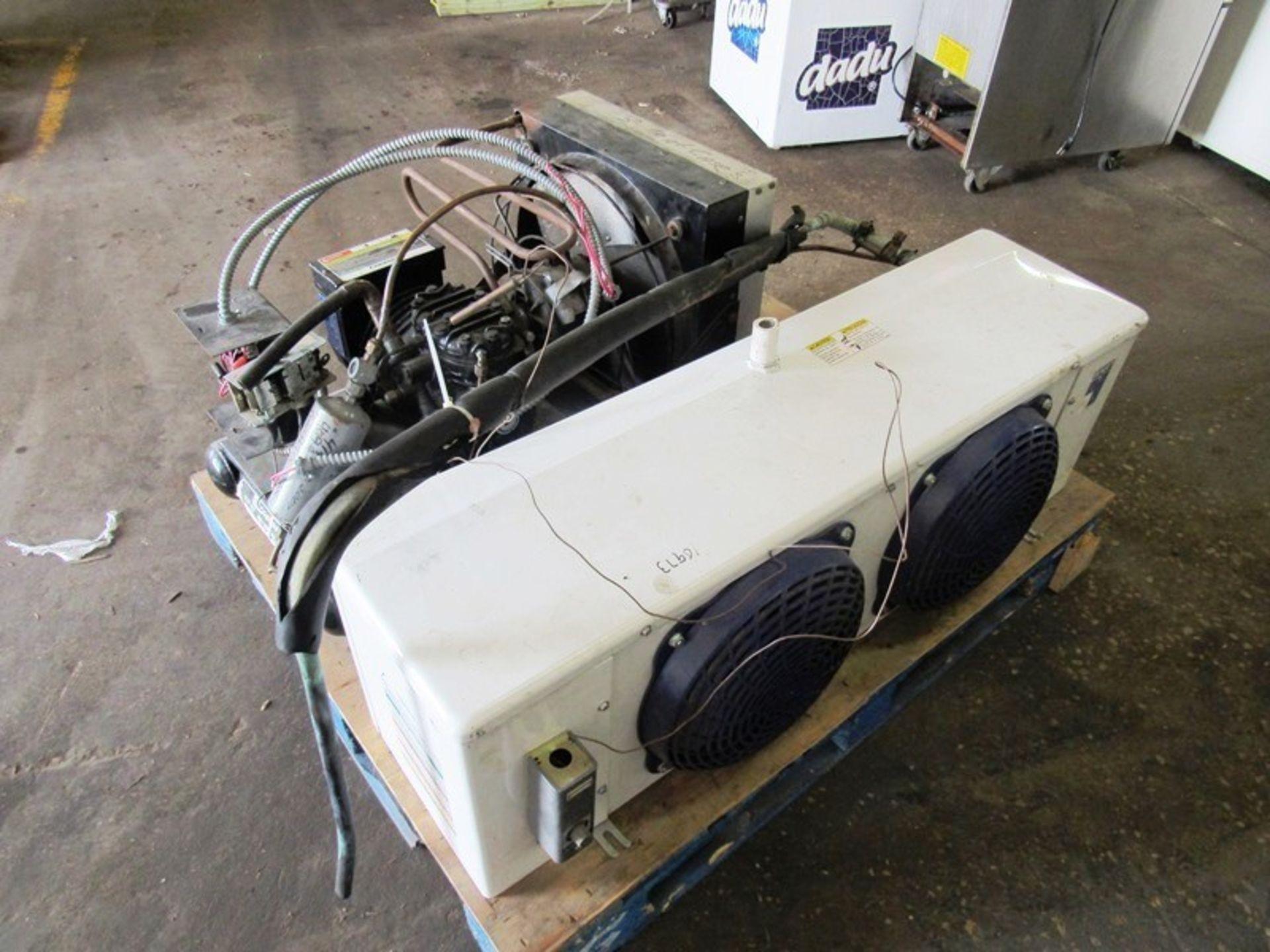 Heatcraft/Larkin Mdl. LCA590AB Evaporator, 2 fan, with Copeland Mdl. Cham0150-1AC-001Compressor, 5