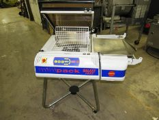 "Multipak-Torre Mdl Galaxy Shrink Wrap Machine, 17 1/2"" W X 14"" L X 8"" H sealing dimensions, up to"