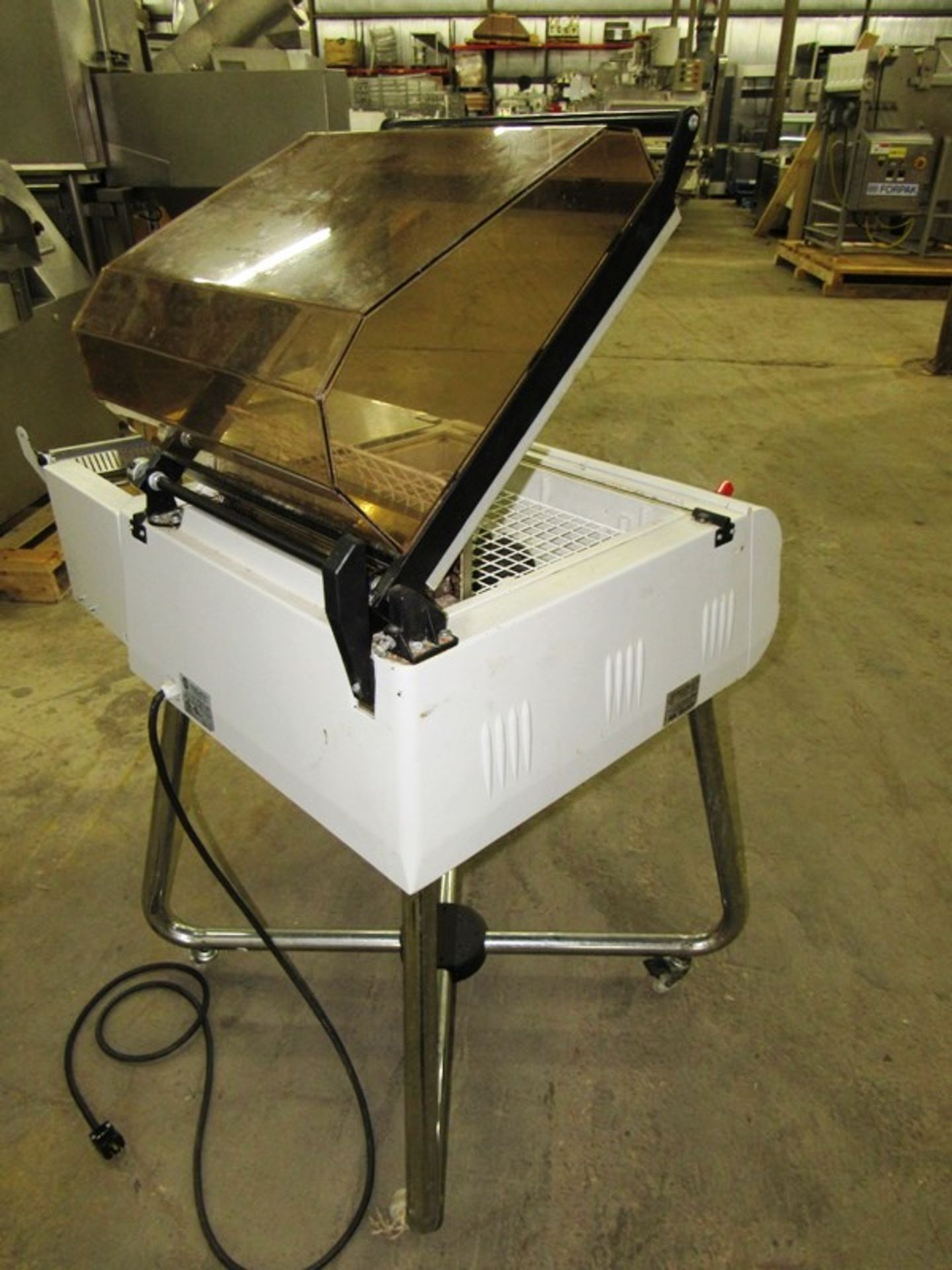 """Multipak-Torre Mdl Galaxy Shrink Wrap Machine, 17 1/2"""" W X 14"""" L X 8"""" H sealing dimensions, up to - Image 3 of 6"""
