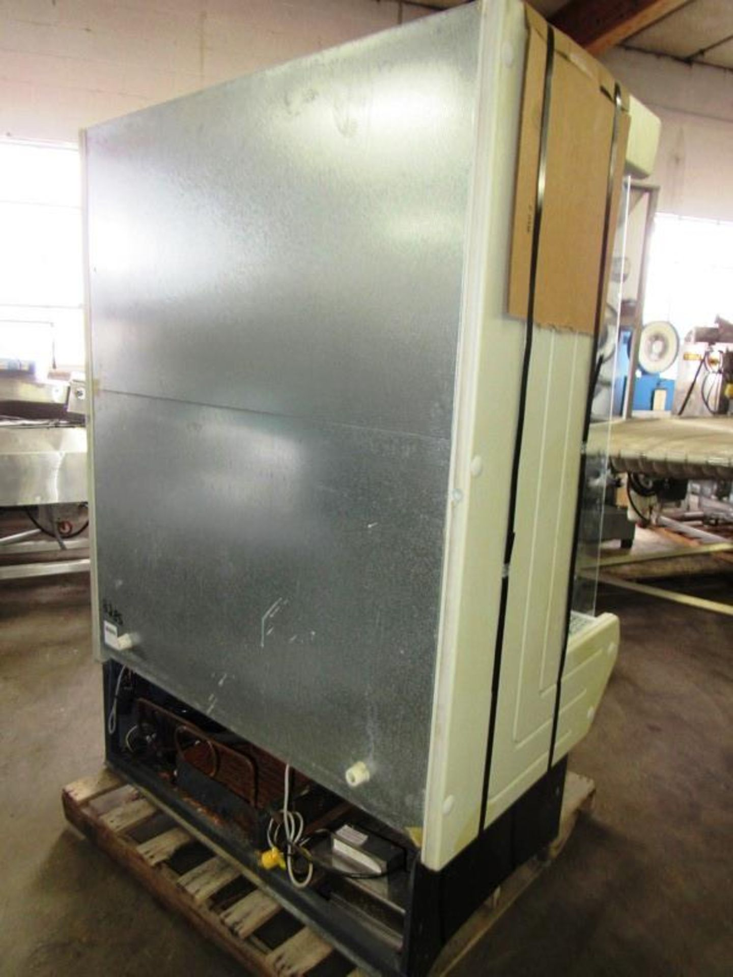 """Lowe Mdl. ML-13-BLX-2 Refrigerated Merchandizer with screen, 51"""" W X 75"""" T X 30"""" D, tested, not - Image 3 of 4"""
